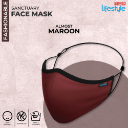 Almost Maroon - Men Mask