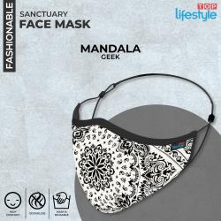 Mandala Geek - Men Mask