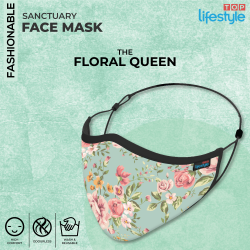 The Floral Queen - Women Mask