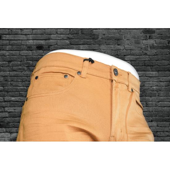 Fm Spandex Twill Pant - Camel