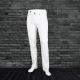 Fm Spandex Twill Pant - White